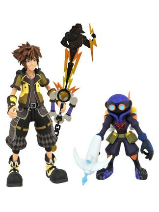 Disney Select: Kingdom Hearts III - Toy Story Sora with Air Soldier Collector's Action Figures