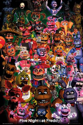 Poster Five Nights at Freddy's - Ultimate Group, 61x91.5cm