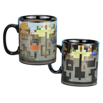 Minecraft - Levels Heat Change Large Mug, 550ml