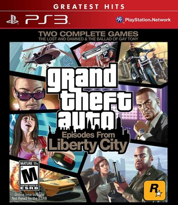 PS3 Grand Theft Auto IV: The Complete Edition US Version (GTA 4)