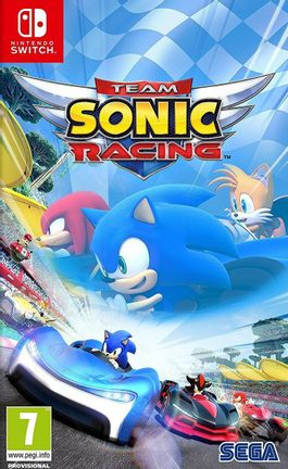 SWITCH Team Sonic Racing [USED] (Grade A)