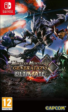 SWITCH Monster Hunter Generations Ultimate [USED] (Grade A)