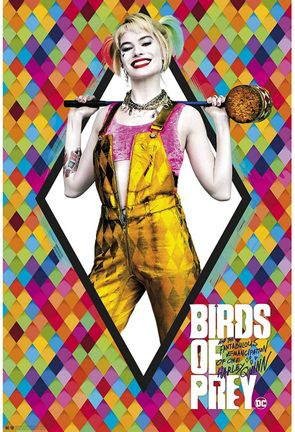 Poster Birds of Pray - Harley Quinn, 91.5x61cm