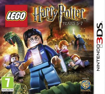 3DS LEGO Harry Potter: Years 5-7 [USED] (Grade A)