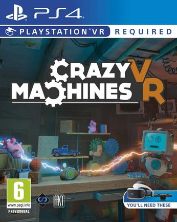PS VR Crazy Machines