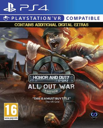 PS VR Honor Duty D-Day - All Out War Edition
