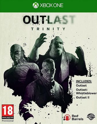 Xbox One Outlast Trinity: 3 Full Games [USED] (Grade A)