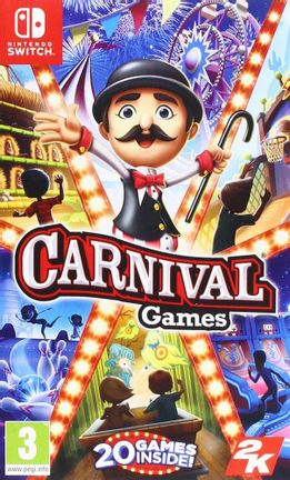 SWITCH Carnival Games incl. 20 Games [USED] (Grade A)