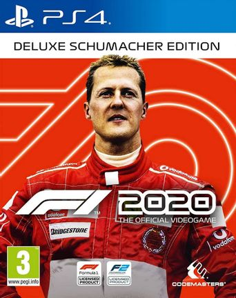 PS4 F1 2020 Seventy Deluxe Schumacher Edition