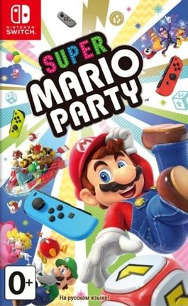 SWITCH Super Mario Party - Russian Import