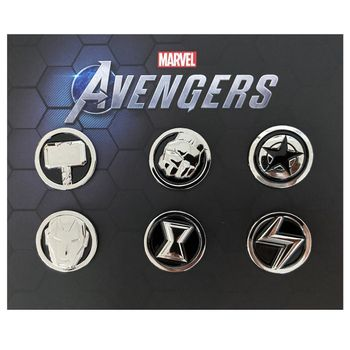 Marvel's Avengers - Super Heroes Pin Badge 6-Pack