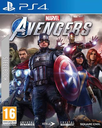PS4 Marvel's Avengers incl. Steelbook