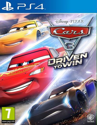 PS4 Disney Pixar Cars 3: Driven to Win [USED] (Grade A)
