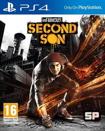 PS4 inFAMOUS: Second Son [USED] (Grade A)