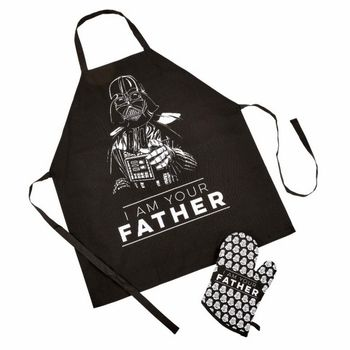 Star Wars - I Am Your Father Darth Vader Apron and Oven Glove Set