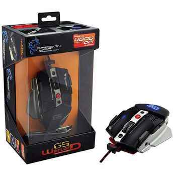 Dragon War G5 Warlord Gaming Mouse Wired, 400 DPI (PC)