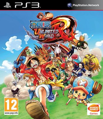 PS3 One Piece: Unlimited World Red [USED] (Grade A)