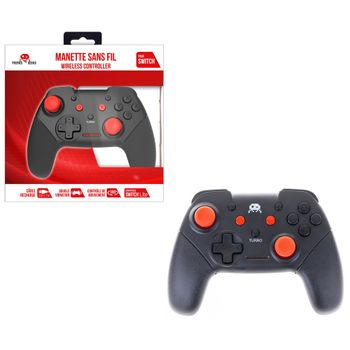 Freaks and Geeks Wireless Controller - Black/Red (Switch, Switch Lite, PC)