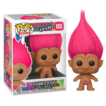 POP! Trolls: Good Luck Trolls - Pink Troll Vinyl Figure