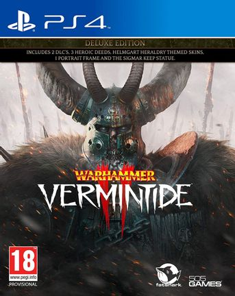 PS4 Warhammer: Vermintide 2 Deluxe Edition
