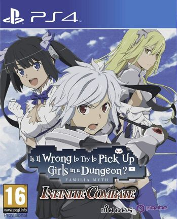 PS4 Is It Wrong to Try to Pick Up Girls in a Dungeon? Infinite Combate