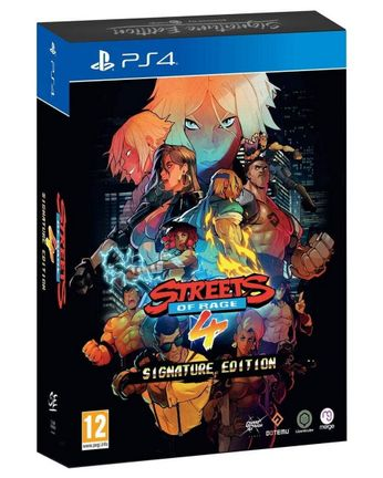 PS4 Streets of Rage 4 Signature Edtition