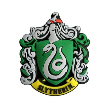 Harry Potter - Slytherin Rubber Magnet