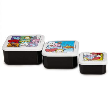 BT21 - Snack Boxes 3-Pack