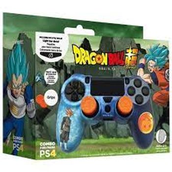 Blade Combo Pack: Controller Protector, Grips, Light Bar Decal - Dragon Ball Super Edition (PS4)