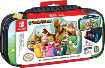 RDS Game Traveler: Deluxe Travel Case - Super Mario Edition (Switch, Switch Lite))