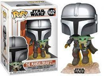 POP! Star Wars: The Mandalorian - The Mandalorian with The Child Vinyl Bobble-Head