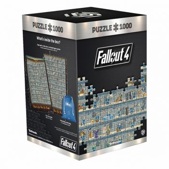 Good Loot Puzzle: Fallout 4 - Perk Poster, 1000 Pieces