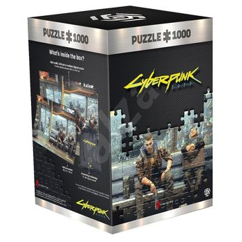 Good Loot Puzzle: Cyberpunk 2077 - Metro, 1000 Pieces