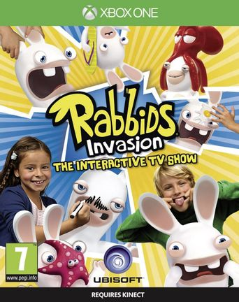 Xbox One Rabbids Invasion: The Interactive TV Show [USED] (Grade A)