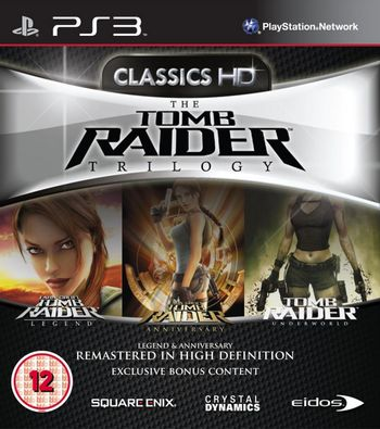 PS3 Tomb Raider Trilogy: Legend, Anniversary and Underworld [USED] (Grade A)