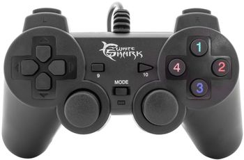 White Shark Hunter Gamepad Wired - Black (PC)