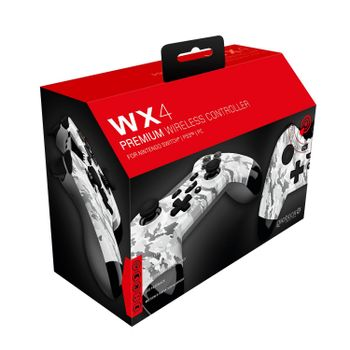 Gioteck WX4 Premium Controller Wireless - White Camo (Switch, PS3, PC)