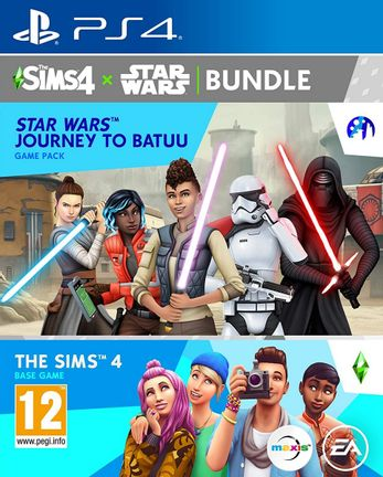 PS4 Sims 4: Star Wars Bundle incl. Journey to Batuu Game Pack
