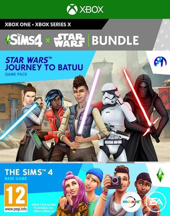 Xbox One Sims 4: Star Wars Bundle incl. Journey to Batuu Game Pack