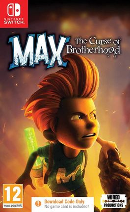 SWITCH Max: The Curse of Brotherhood - Digital Download