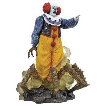 Gallery Diorama: It (1990) - Pennywise Statue, 23cm