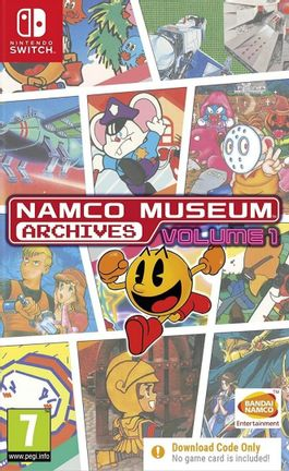 SWITCH Namco Museum Archives Volume 1 - Digital Download