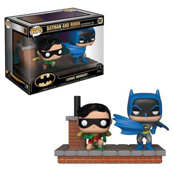POP! Comic Moments: Batman 80 Years - Batman and Robin Vinyl Figures