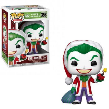 POP! Heroes: DC Super Heroes - The Joker as Santa Vinyl Figure