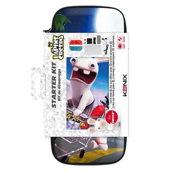 Konyx Starter Kit incl. Carry Bag and Accessories - Raving Rabbids (Switch)