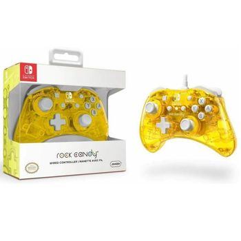 PDP Rock Candy Wired Controller - Pineapple Pop (Switch)