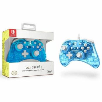 PDP Rock Candy Wired Controller - Blue Merang (Switch)