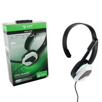 PDP Afterglow LVL 1 Chat Headset Wired - Black/White (Xbox One)
