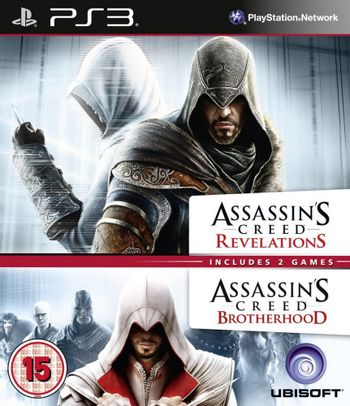 PS3 Assassin's Creed Revelations and Brotherhood Double Pack [USED] (Grade B)