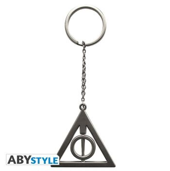 Harry Potter - Deathly Hallows Metal 3D Keychain